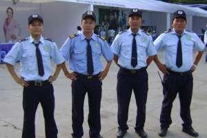 May đồng phục bảo vệ đẹp, ấn tượng tại quận 9