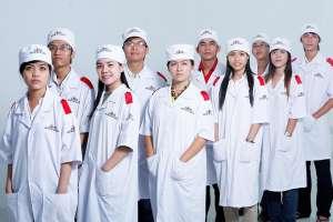 May đồng phục bác sĩ chất lượng theo tiêu chuẩn tại quận 7