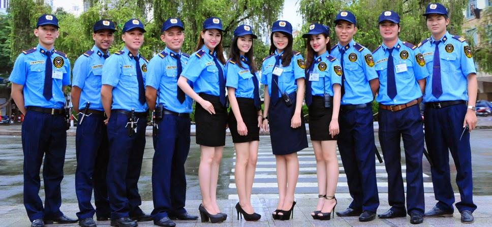 May đồng phục bảo vệ đẹp, ấn tượng tại quận 7