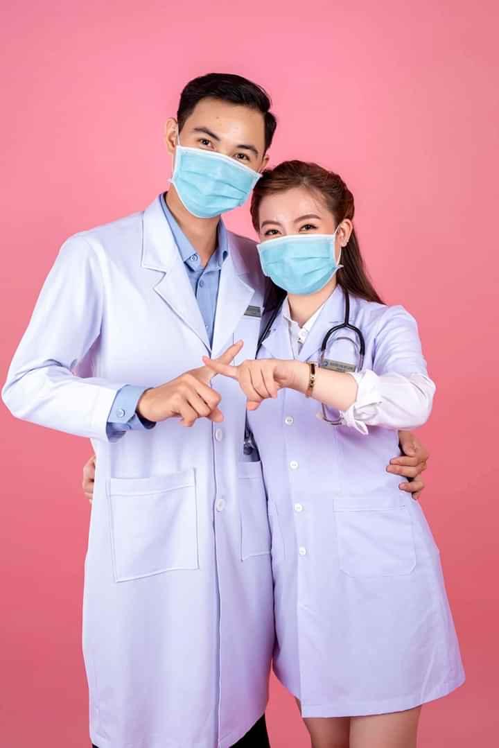 Xưởng may đồng phục bác sĩ chất lượng