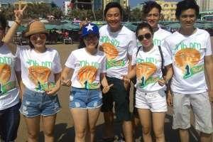 May áo thun đồng phục giá rẻ tại TP HCM