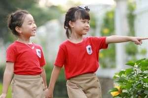Chuyên nhận may đồng phục áo thun cổ tròn in thêu logo