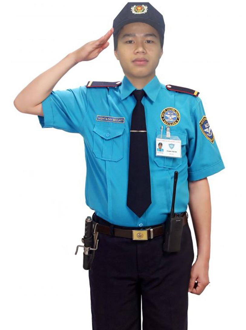 Đồng phục bảo vệ tay ngắn