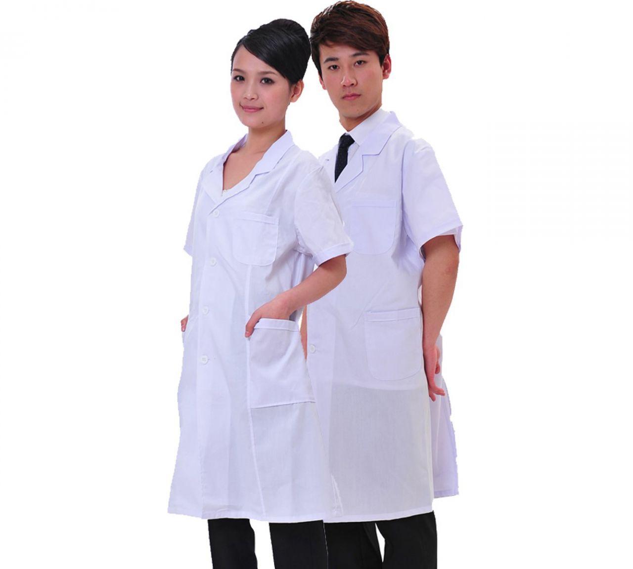 Đồng phục áo blouse trắng chất lượng