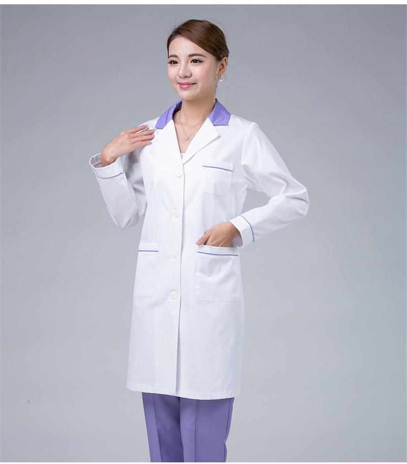 Đồng phục bệnh viện áo blouse dành cho bác sĩ nam và nữ